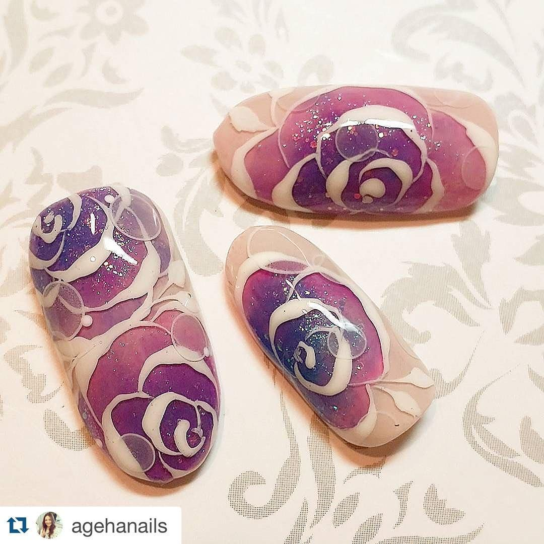 VETRO INTERNATIONAL sur Instagram : #Repost @agehanails ・・・ Mixrose❤…