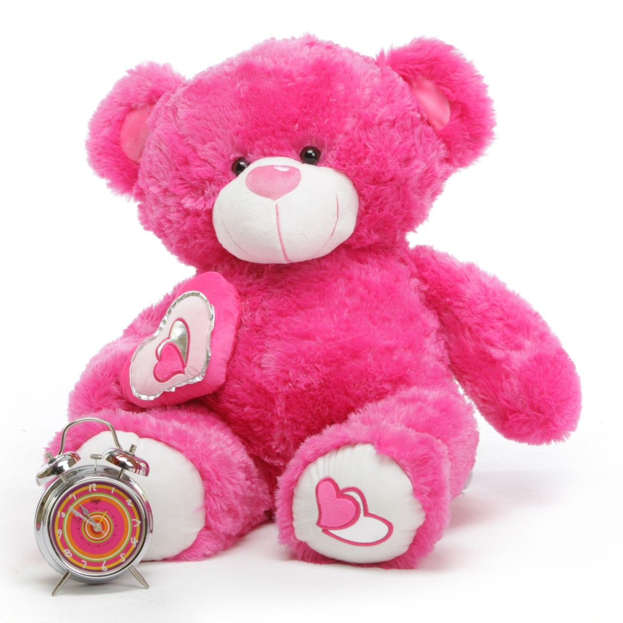 Teddy bear pink really cute i think my teddy bear page teddy bear bears chacha big love hot pink valentine giant wallpapers resolution filesize kb added on august tagged teddy bear bears voltagebd Image collections