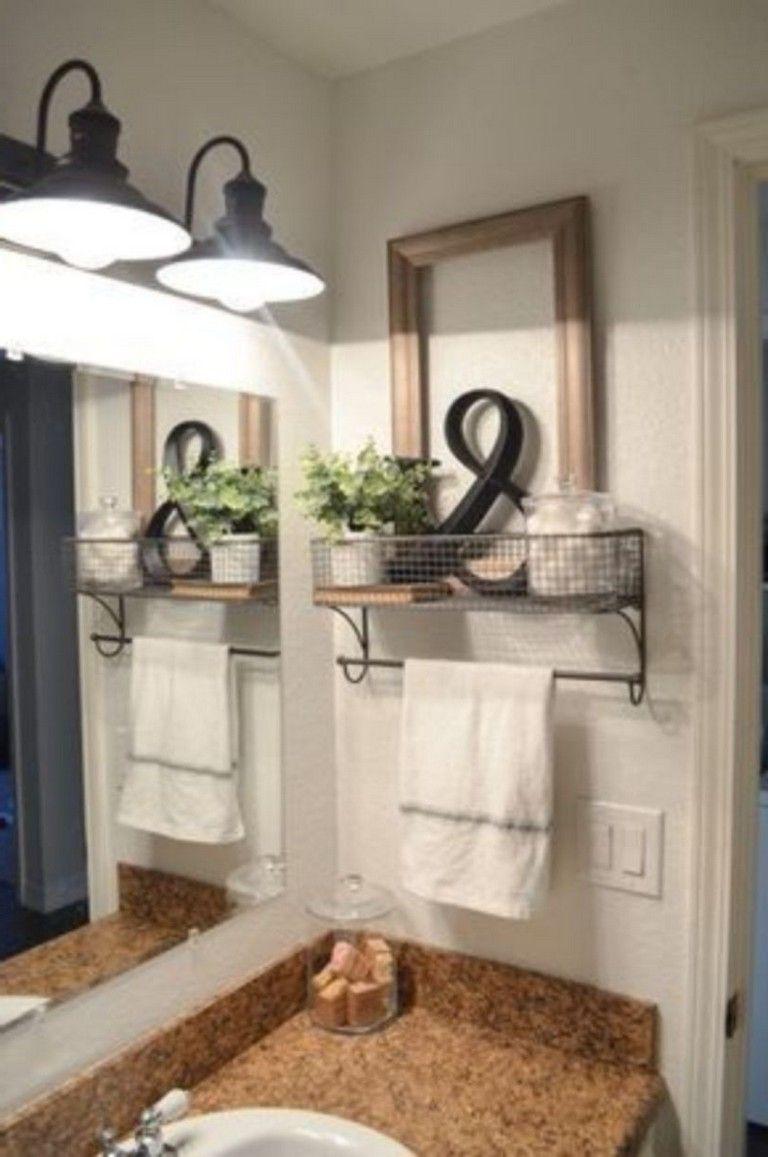 37 Inspiring Modern Farmhouse Bathroom Decor Ideas