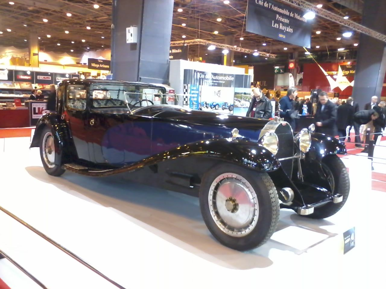 Bugatti Royale, Rétromobile 2015, d'autres  lien: http://photosdevoituresmotos.blogspot.fr/2015/02/blog-post_7.html