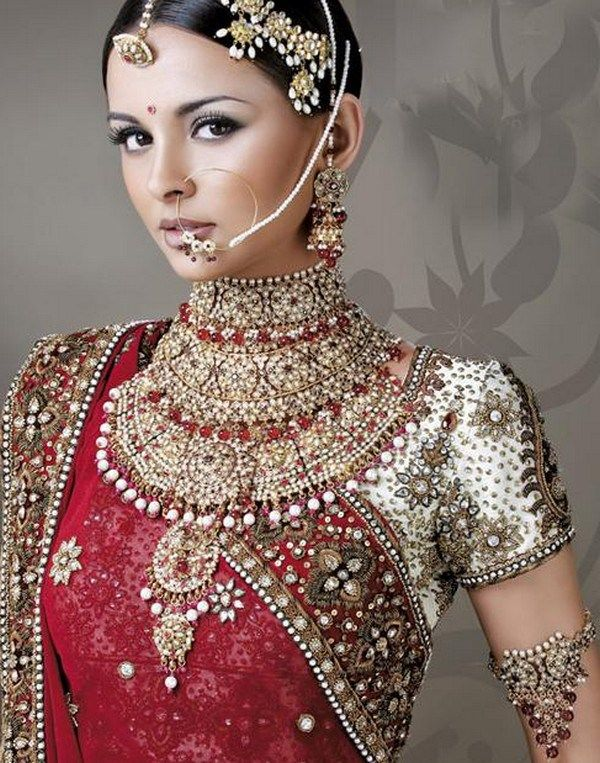 Asian bride jewellery