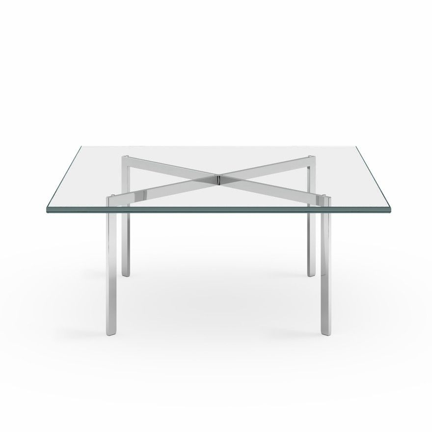 barcelona® table   knoll   mies van der rohe   pinterest   interiors