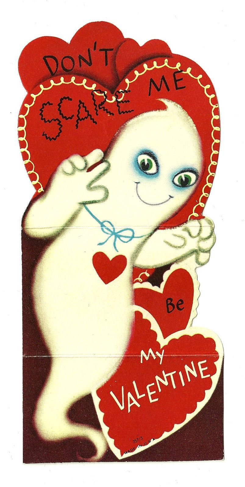 Vintage Valentine Card  eBay  Be my valentine  Pinterest