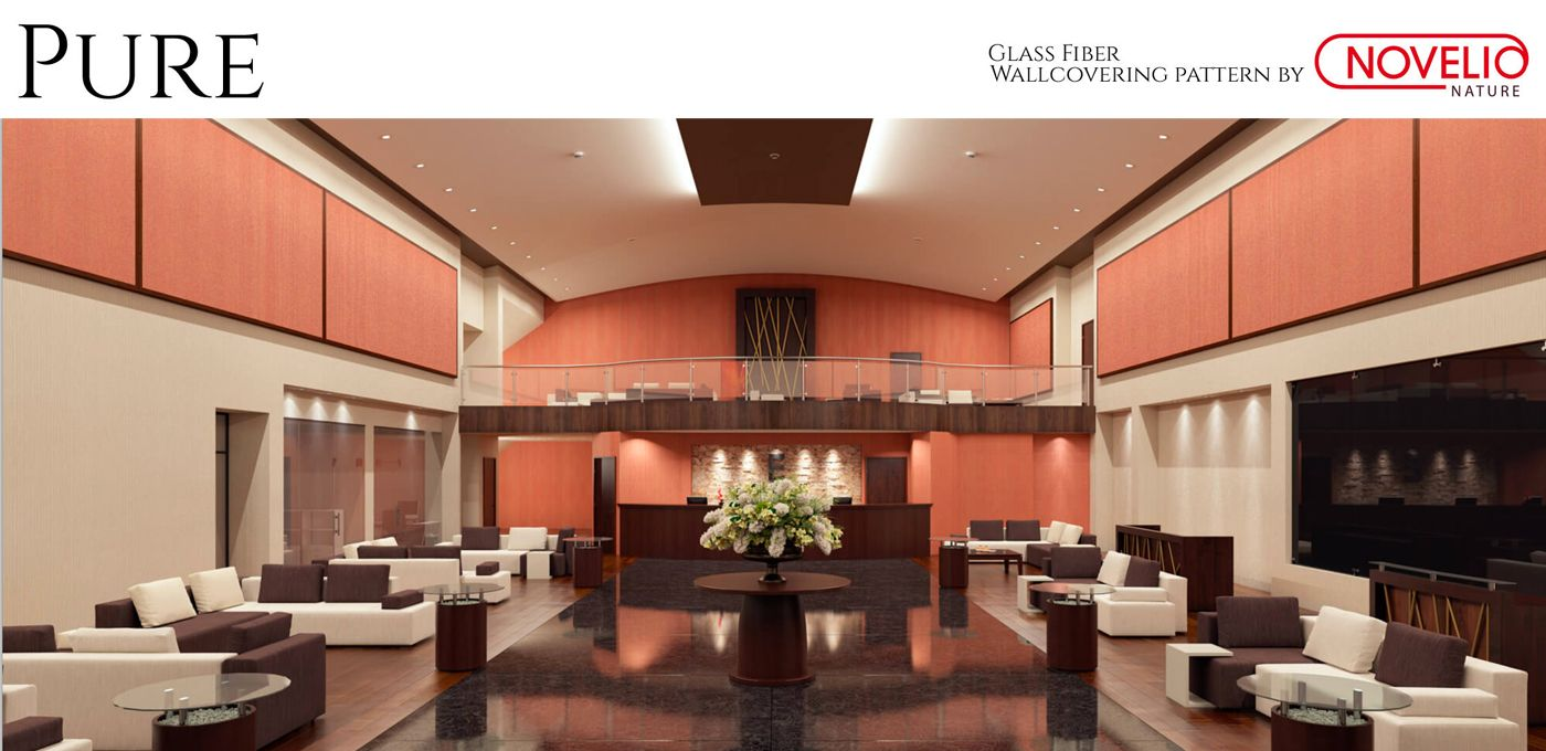 Orange Wallcovering Pure Commercial Wallcovering From Levey Wall Coverings House Styles Home