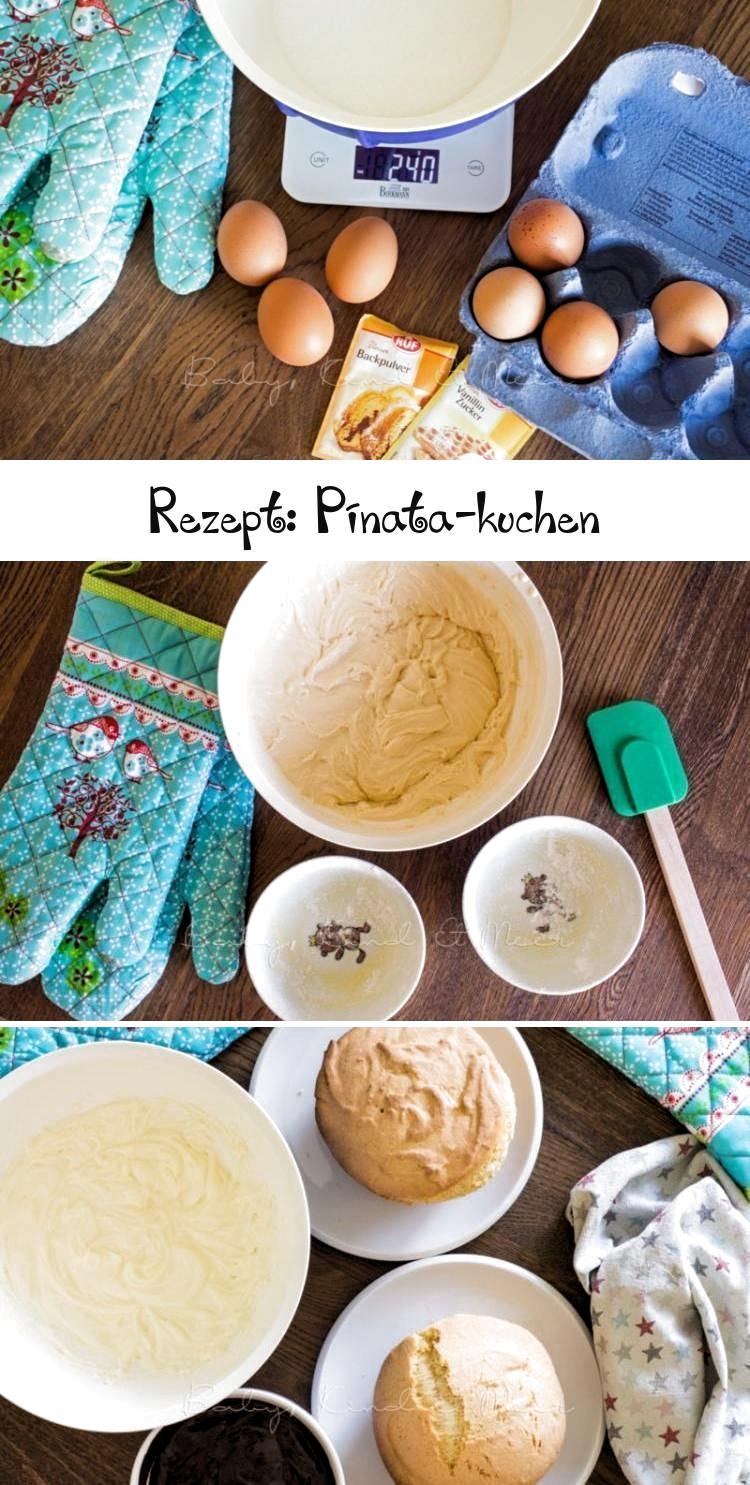 Photo of REZEPT: PINATA-KUCHEN – Rezepte für Familien, Kreatives Essen – Baby, Kind und …