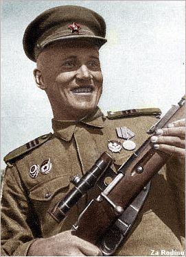Soviet sniper Viktor Medvedev - Hero of Stalingrad battle | Flickr - Photo Sharing!