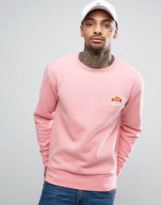 Free Shipping Supply Cheap Sale Fashion Style Hoodie With Small Logo In Pink - Pink Ellesse Visit Cheap Price Sale With Paypal Clearance Footlocker NV7gTs