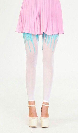 Amazing drip tights by URB #fashion