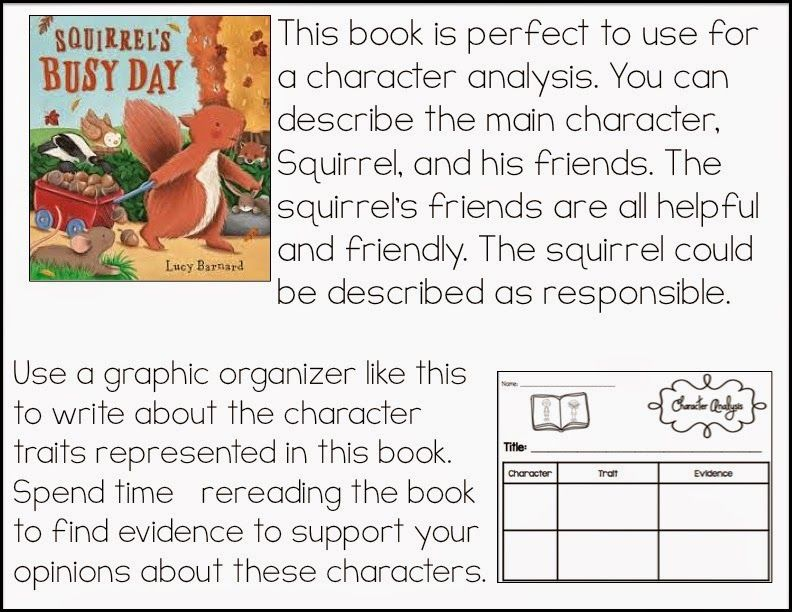 Teaching Character Analysis In The Primary Grades  Character