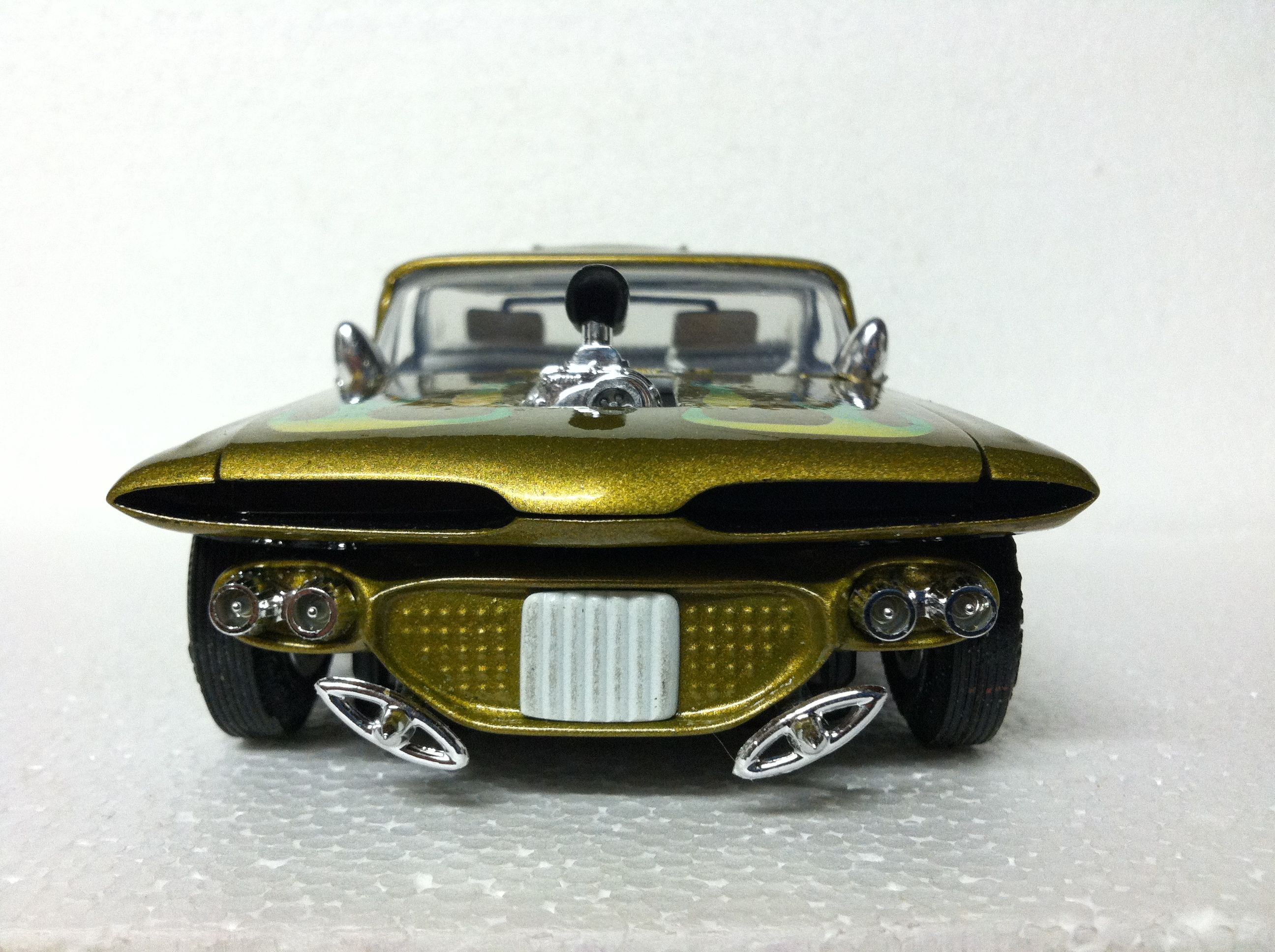 59 Chevy El Camino Radical Custom Car Model Model Cars Kits
