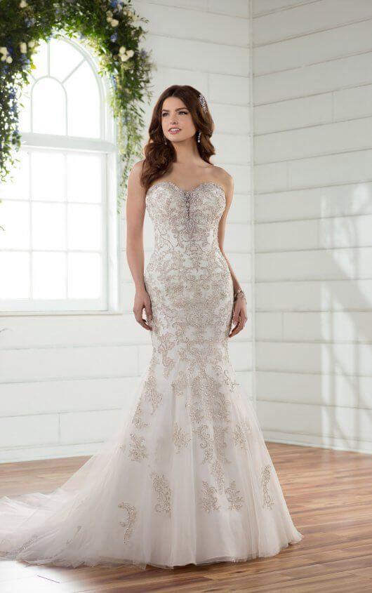 Wedding Dresses | Vintage weddings, Boho chic wedding dress and ...