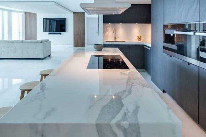 Marmer keukenblad kitchen in cocinas