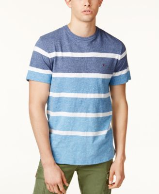 8f76fca8 TOMMY HILFIGER Tommy Hilfiger Men'S Colorblocked Striped T-Shirt. # tommyhilfiger #cloth #shirts