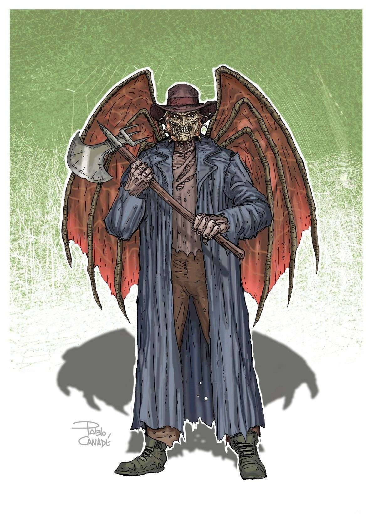 Jeepers Creepers Horror Villains Horror Artwork Horror Movie Art