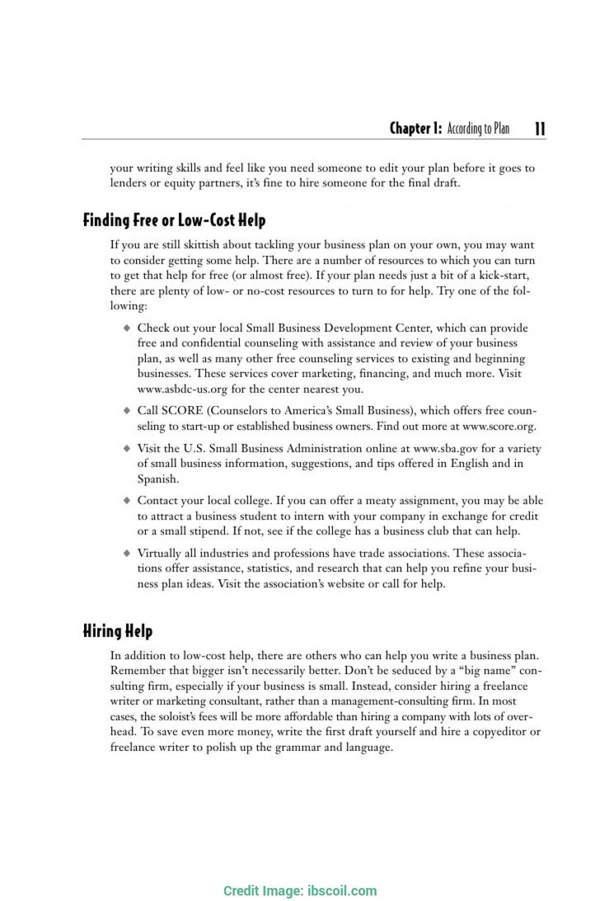 Download New Sole Trader Business Plan Template Can Save