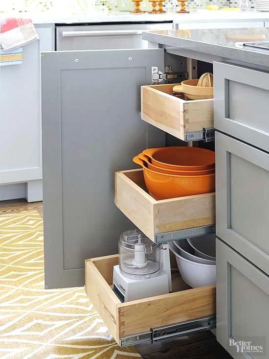 Best Kitchen Drawer Ideas In 2020 Kitchen Drawer Storage Soft Close Drawer Slides Kitchen Drawers