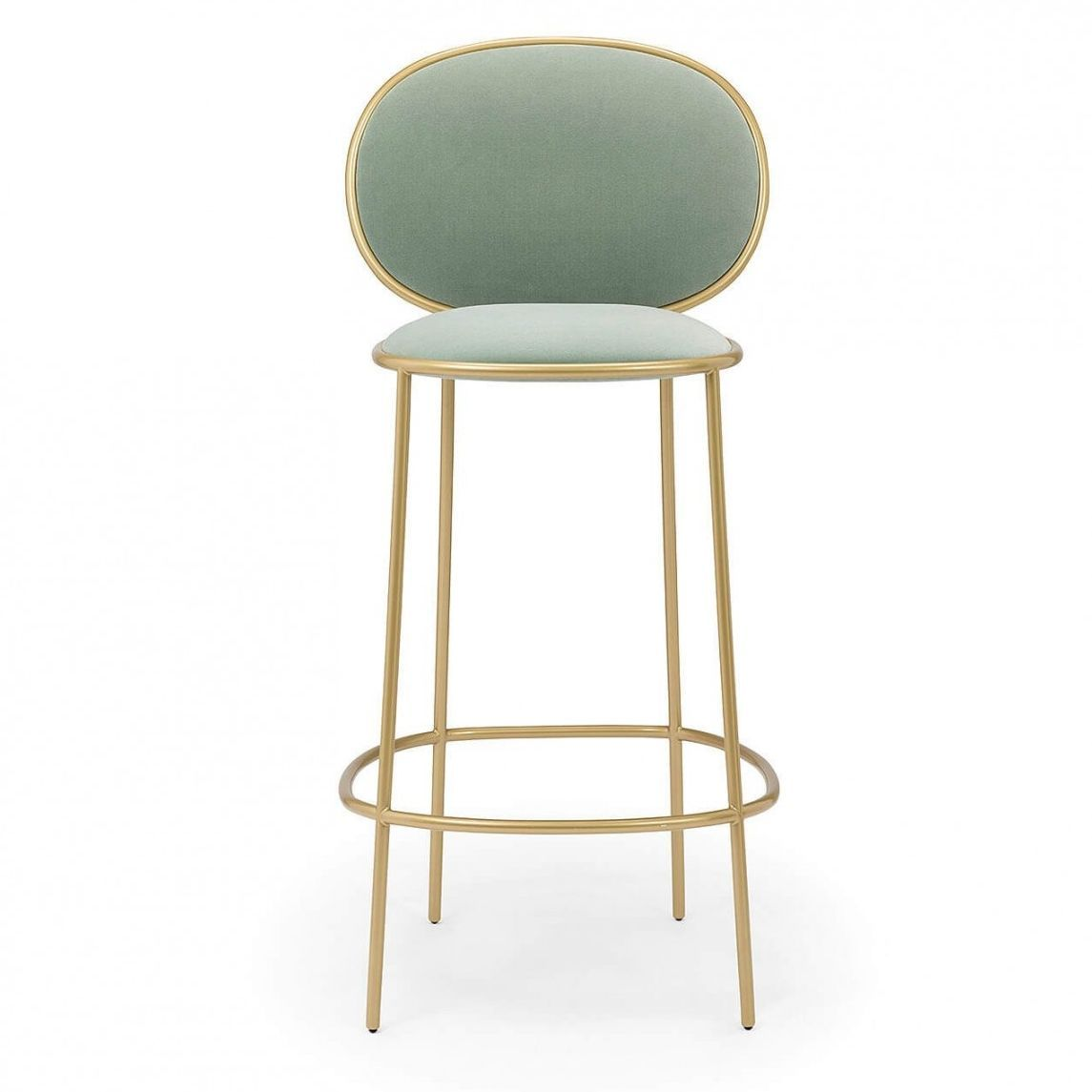 This Soft Mint Green Bar Stool Is A Fun Addition To Any Kitchen