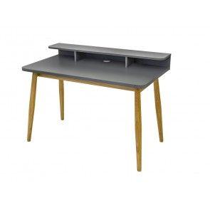 Farsta Scandinavian Home Office Desk Console
