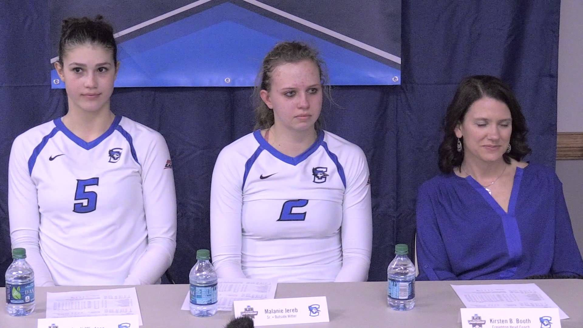 Creighton Volleyball Press Conference After Unc Win 12 5 15 Volleyball News Creighton Volleyball