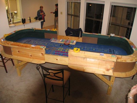 Bar blackjack table