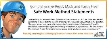 Pin By Bluesafe Solutions On Safe Work Method Statement Template