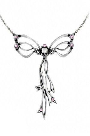 Alchemy Gothic pendant necklace in pewter Gothic Matrimony