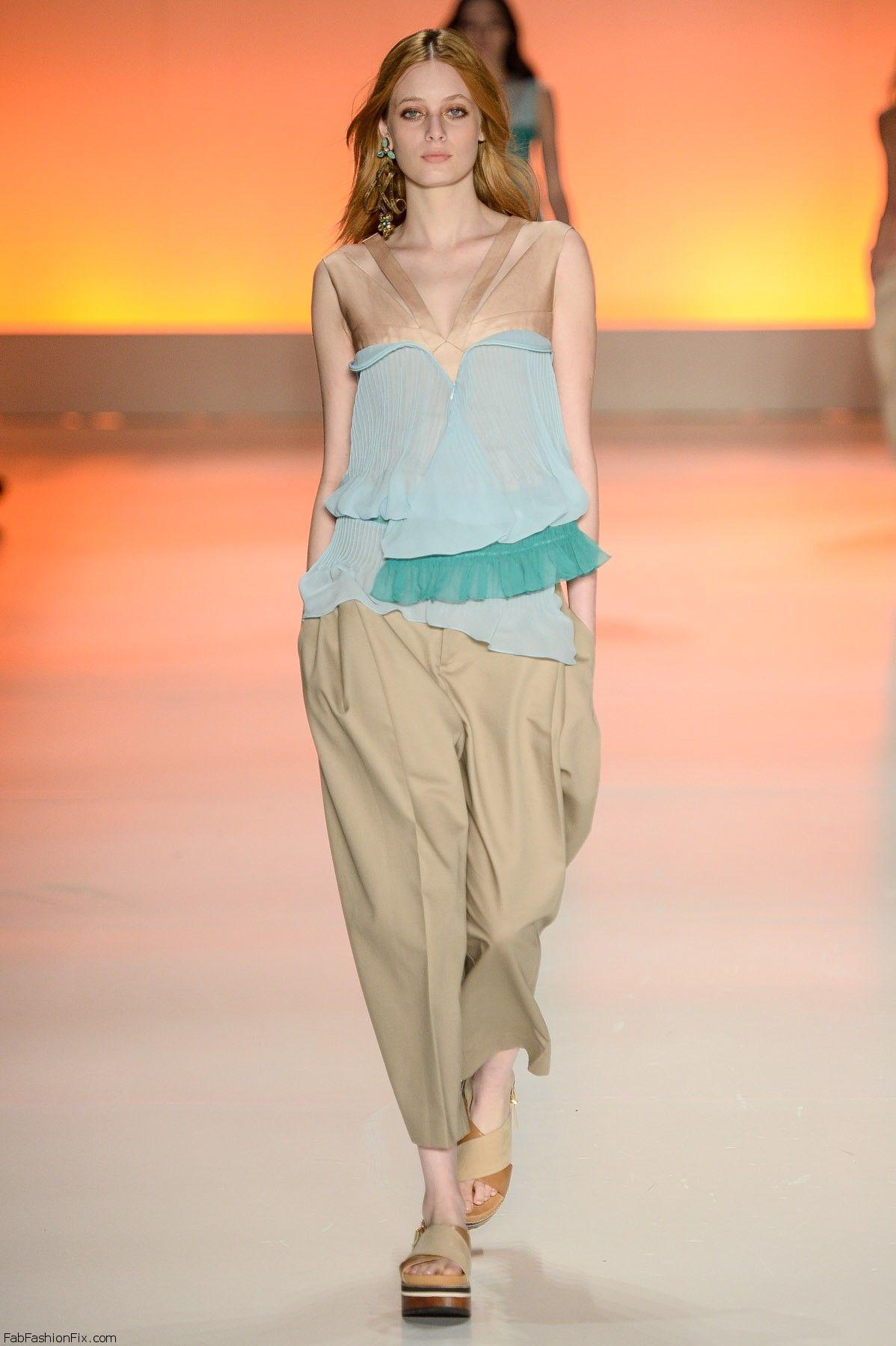 Triton spring/summer 2015 at Sao Paulo Fashion Week