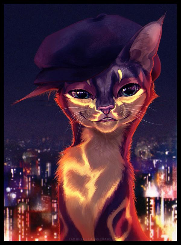 зоне гламурная кошка картинки арлекина поднимет настроение