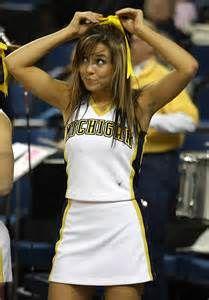 Michigan Wolverines Cheerleaders - Bing images