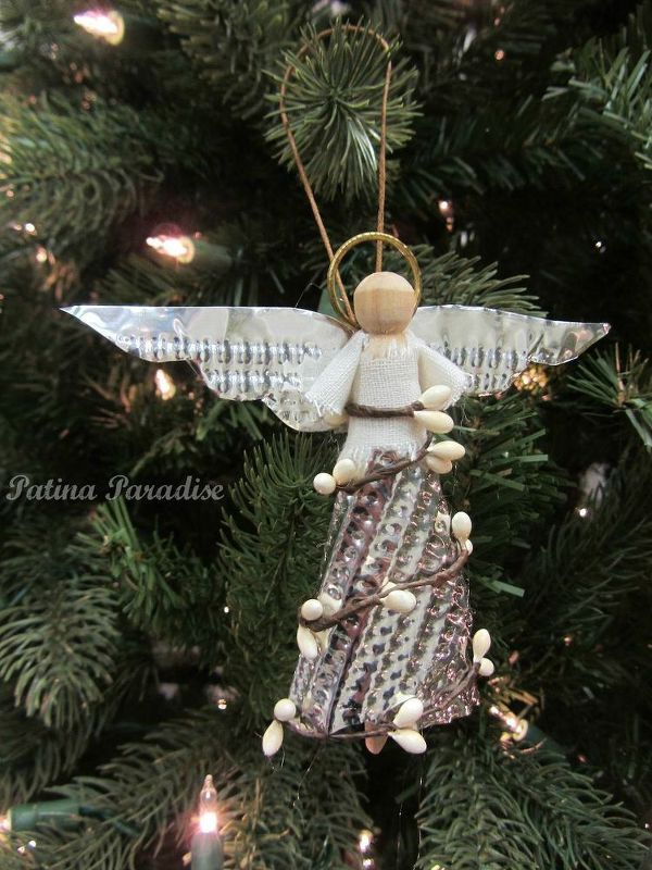 Great How To Make A Christmas Angel Ornament, Christmas Decorations, Crafts,  Seasonal Holiday Decor, Diy Angel Made With Aluminum Cookie Sheets
