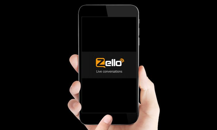 The Zello walkietalkie app has soared in popularity