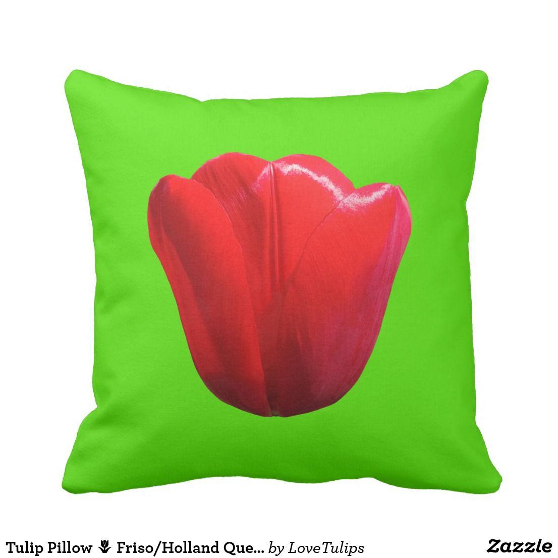 Tulip Pillow Friso Holland Queen Tulips Tulip Pillow Pillows Decorative Throw Pillows