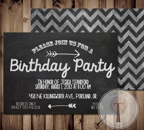 17 Best images about Birthday invites on Pinterest | 30th birthday ...