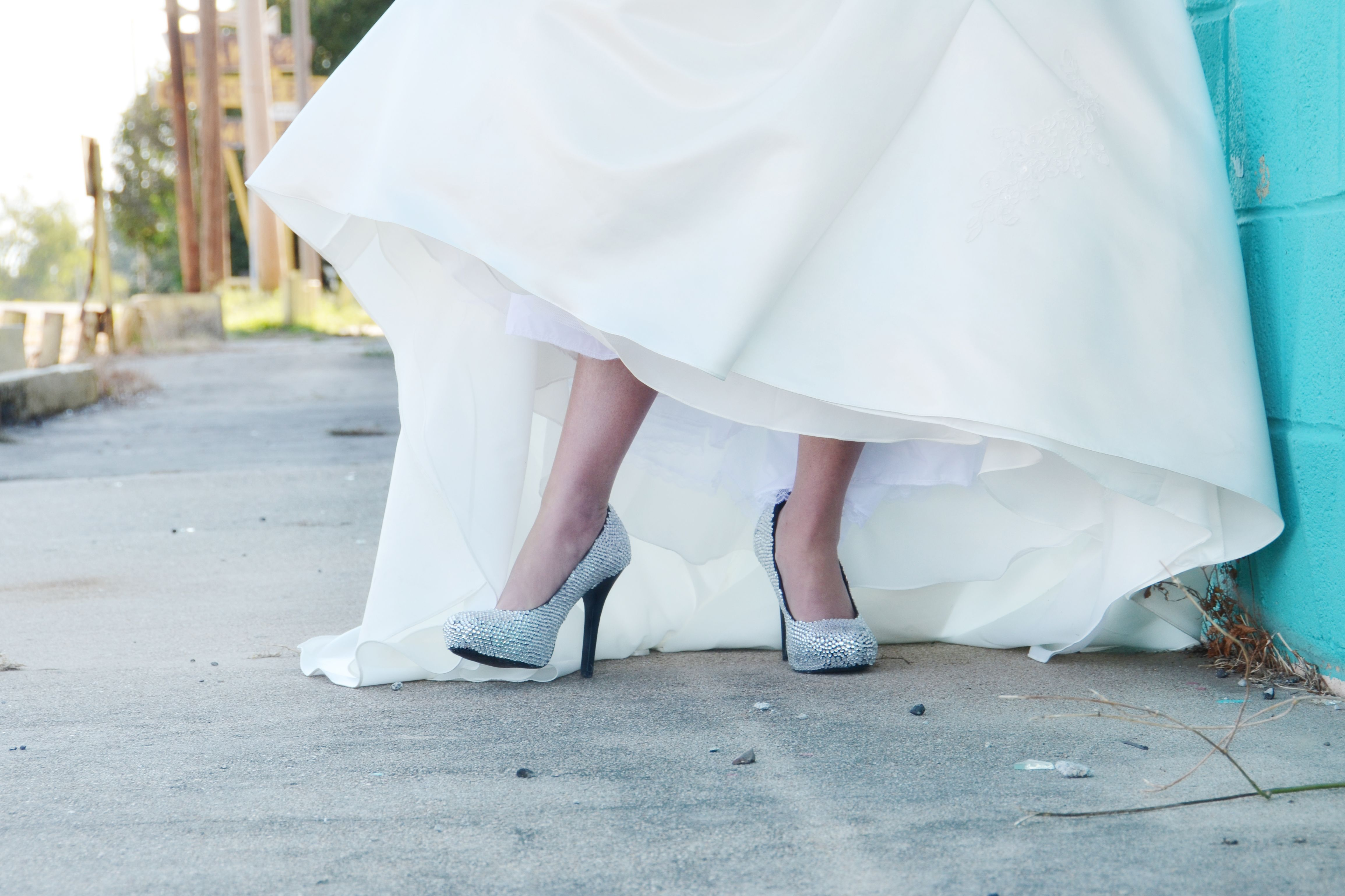 made my own wedding shoes with $9.99 shoes from TJMaxx plus LOTS of ...
