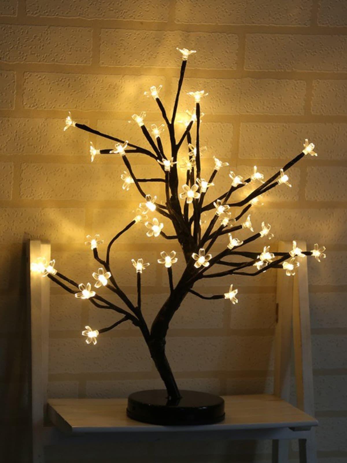 20pcs Bulb Tree Shaped Table Lamp 12v