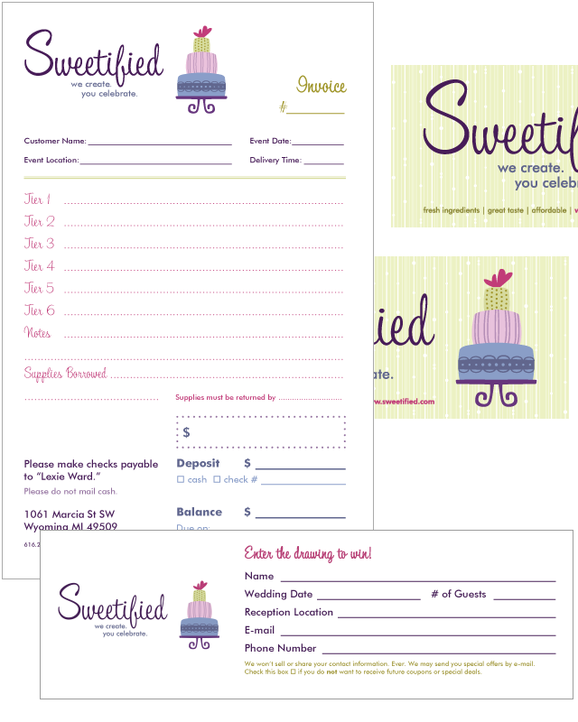 Free Invoice Templates Picture  Bakery Ideas