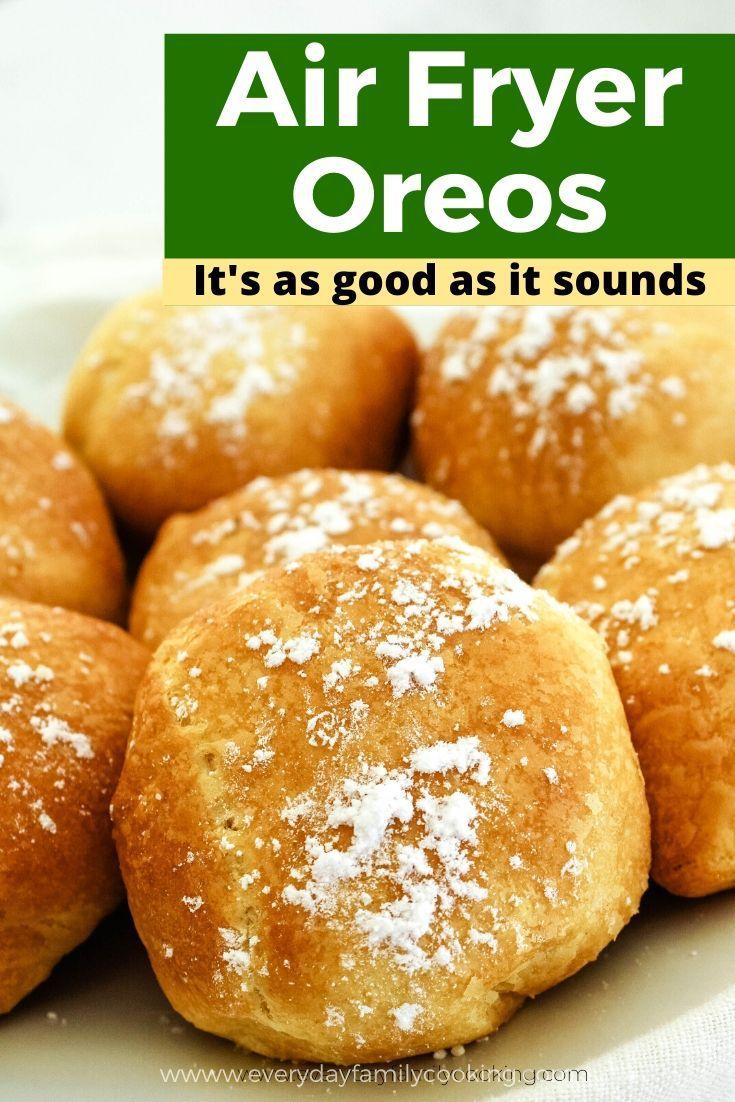 Air Fried Oreos Recipe in 2020 Yummy food dessert, Air