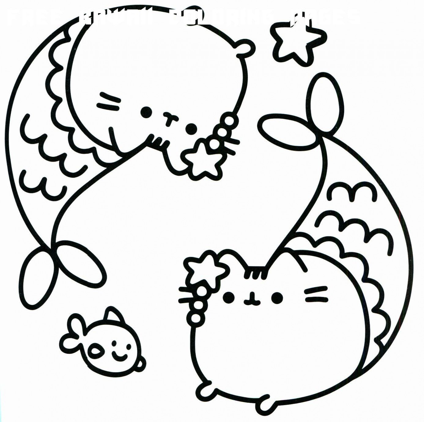 6 Free Kawaii Coloring Pages In 2020 Pusheen Coloring Pages Unicorn Coloring Pages Hello Kitty Colouring Pages