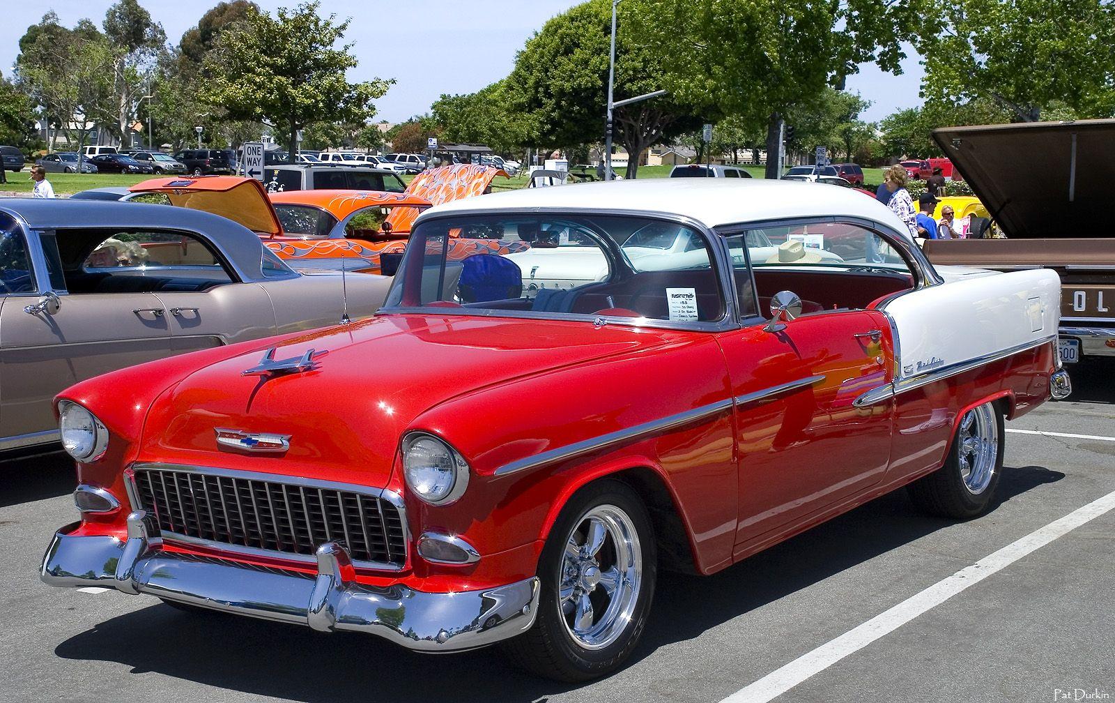 1955 Chevy Chevrolet bel air, 1955 chevrolet ve Chevy