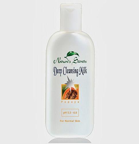 Deep Cleansing Milk Papaya Nature S Secrets Naturessecrets