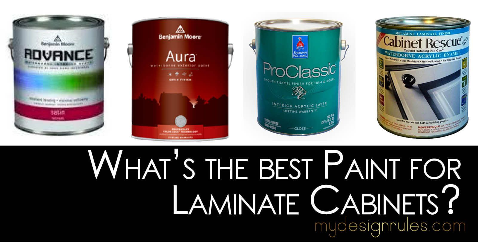 What S The Best Paint For Laminate Cabinets Laminate Cabinets