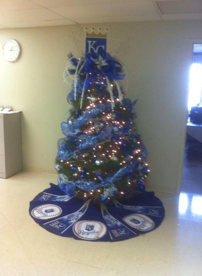 A Royal Tree Merry Christmas Royals Fans. Royals BaseballKansas City ...