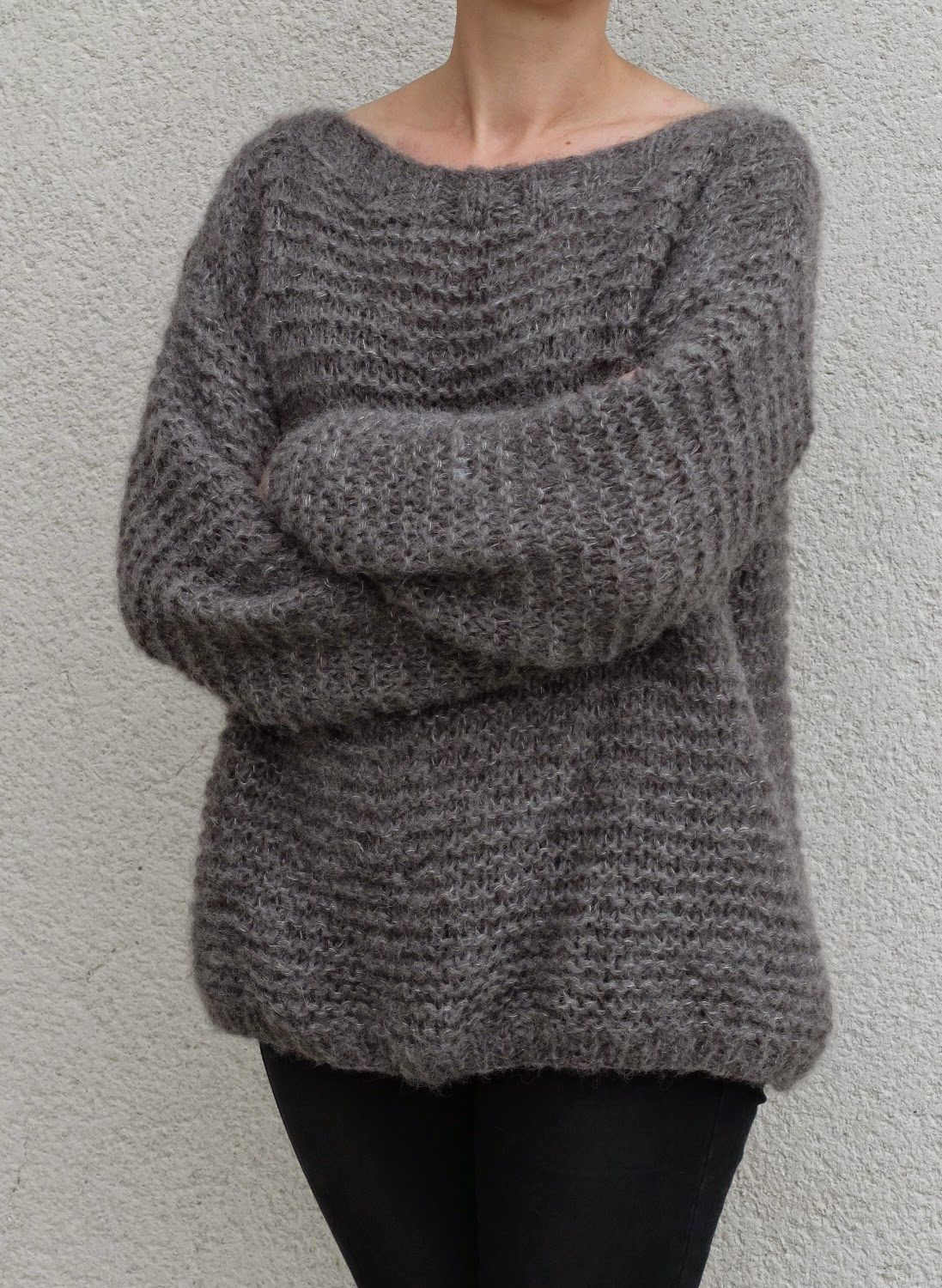 Tricolyne n4 le pull point mousse knit pinterest mousse knit patterns bankloansurffo Gallery