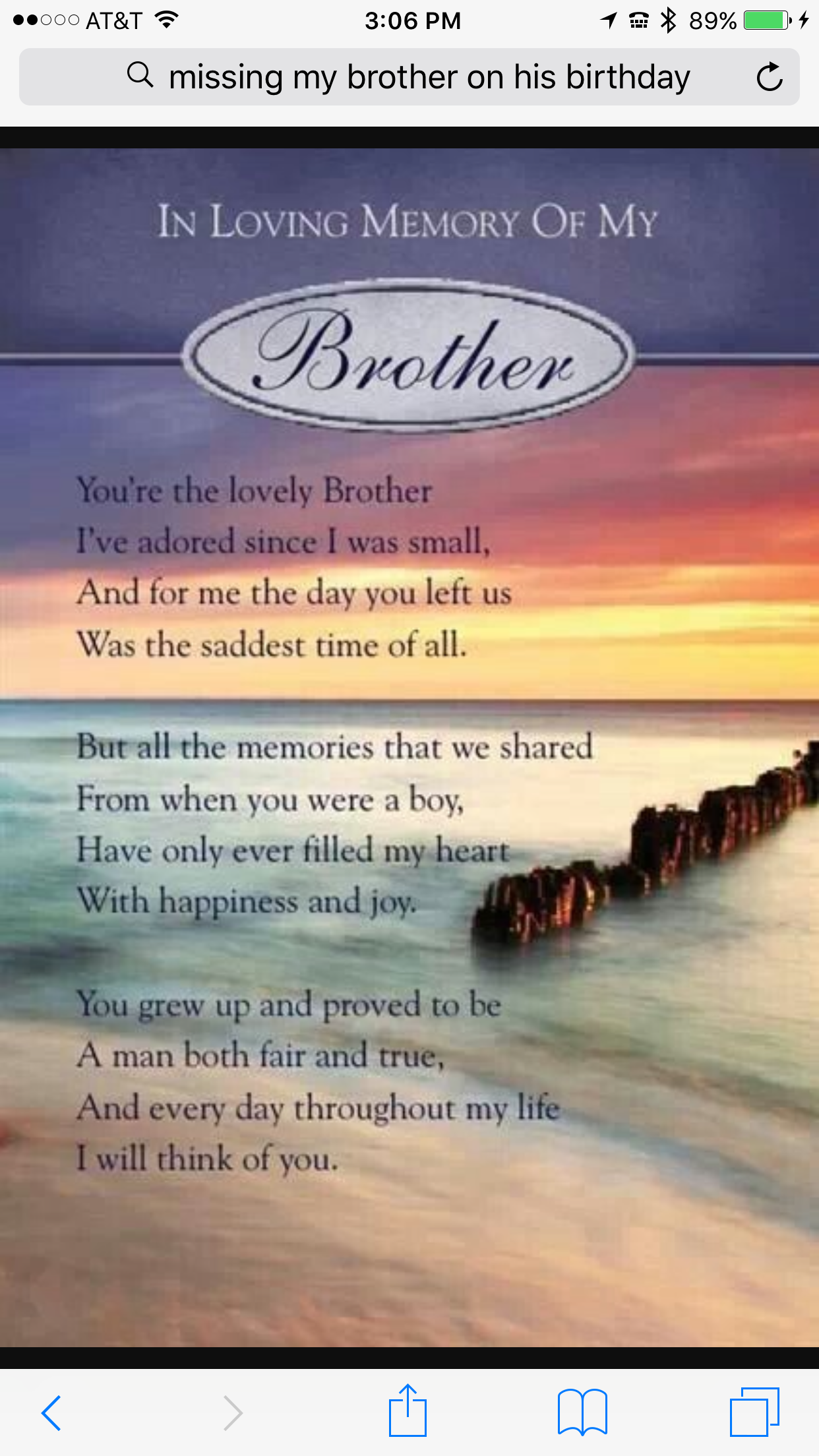 I miss you so much  My brother quotes, Brother quotes, Birthday