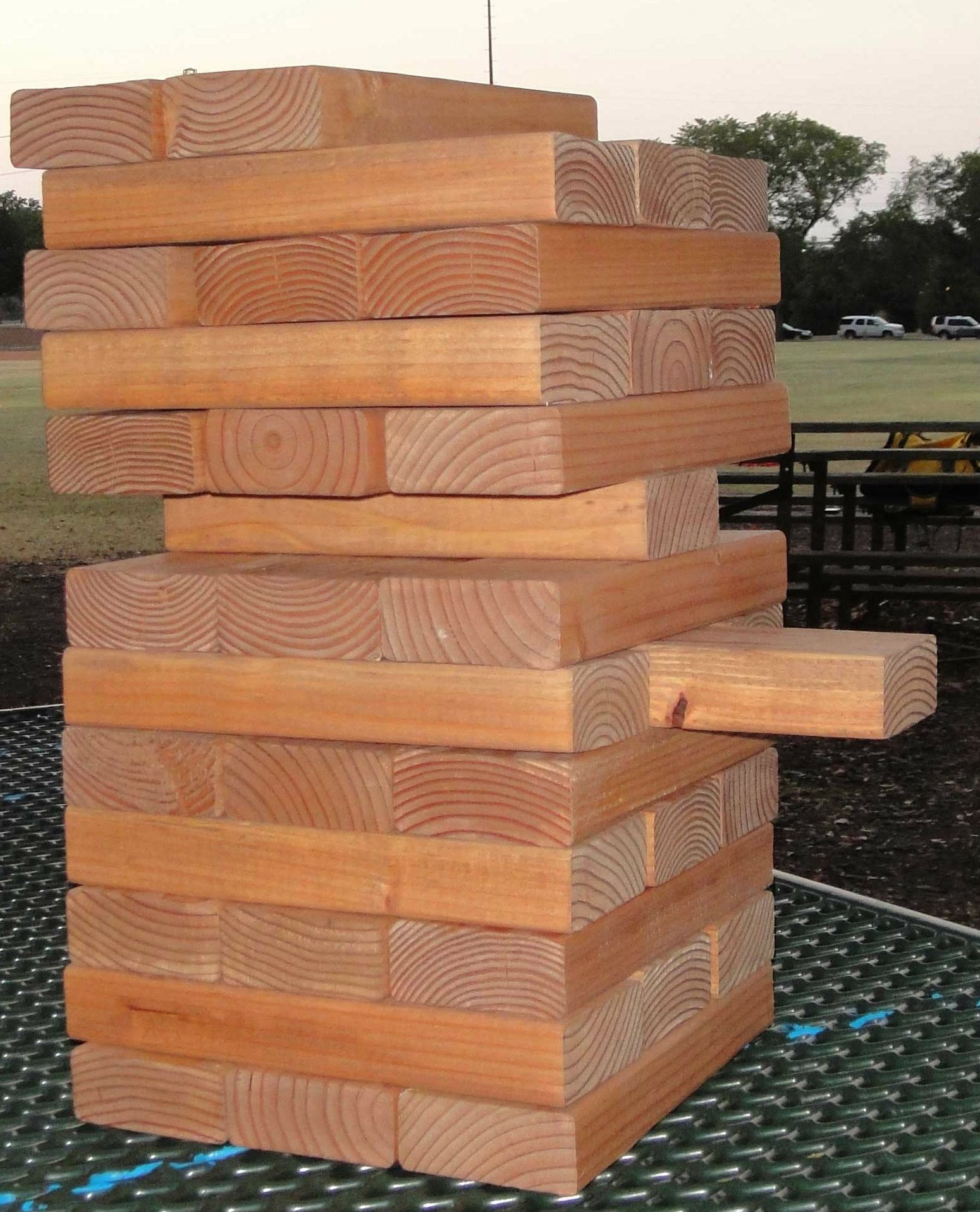 giant jenga with activities written on the pieces different color different age groups look. Black Bedroom Furniture Sets. Home Design Ideas