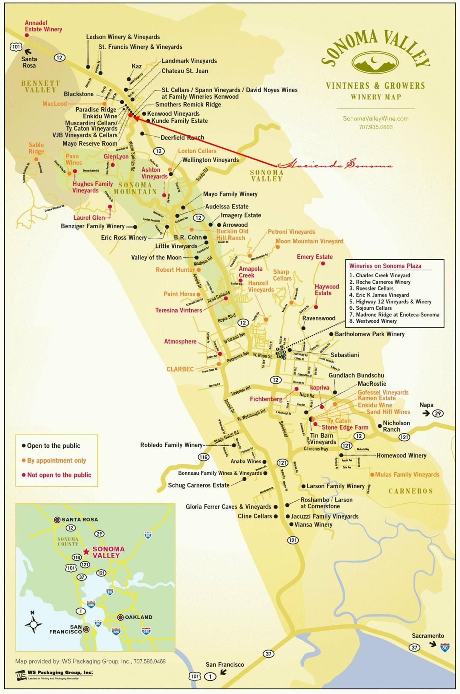 Map Of Sonoma Wineries Sonoma Valley Wineries | n a p a | s o n o m a in 2019 | Sonoma