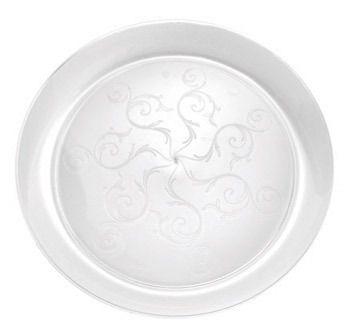 Elegant 7  Clear Round Hard Plastic Salad Plates  sc 1 st  Pinterest & Elegant 7
