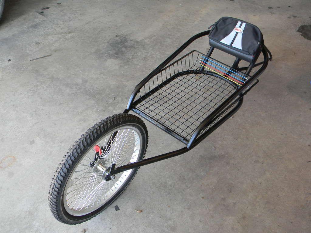 My Version Of A Yak Bike Trailer Bicycle Trailer Bike Trailer Bike Cart