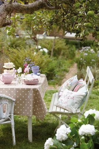 Dunelm Mill Garden Party Tea Party Garden Outdoor Tea