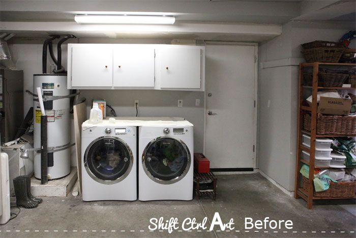 Laundry Nook Garage Make Over Progress Laundry Nook Garage